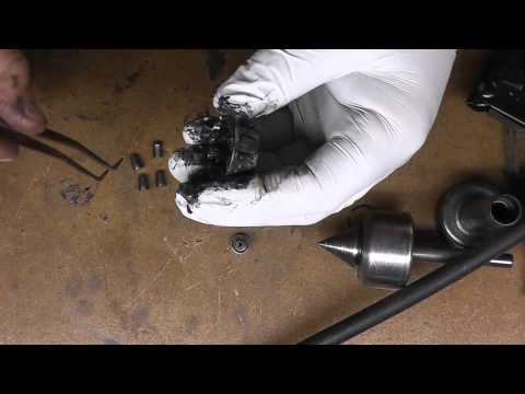 Live Center Bearing Cleaning and Repack