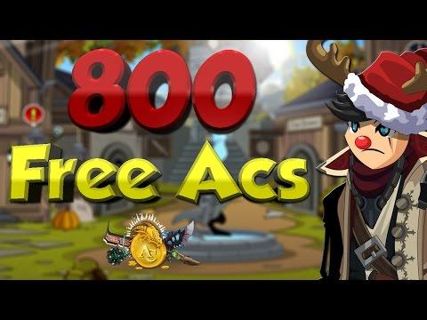 How to get 800 Free Acs AQW 2015