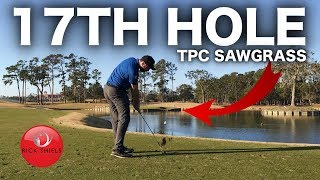 THE SUPERB 17TH HOLE - TPC SAWGRASS!