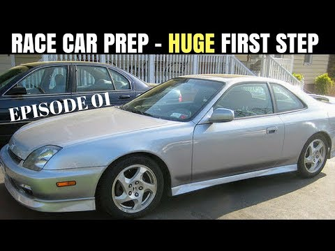 Budget Racing | 5th Gen Honda Prelude H22A Motor Mount Replacement & Test Drive
