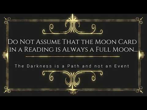 The Moon Tarot Card - A Deeper Insight