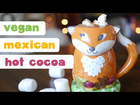 Vegan Mexican Hot Chocolate | Holiday Recipe