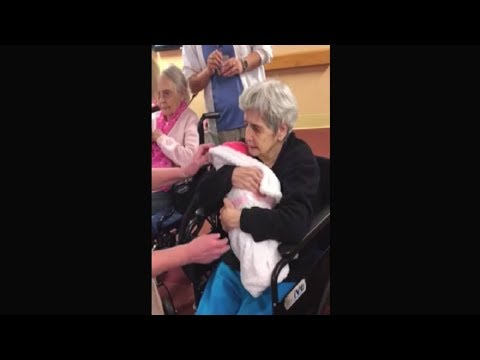 They Hand Sick Grandma A Baby, Her Next Move Has Onlookers Choking Back Tears