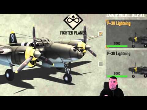 Heroes and Generals Flying Tutorial Chapter 3   Controls, Plane Overview and Cannon Ammo!