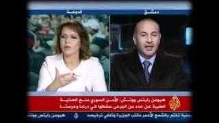عشرين مليون سوري حطموا التلفاز بعد مشاهدة هذه المقابلة