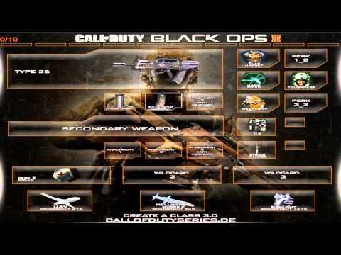 Black Ops 2 Class Loadouts