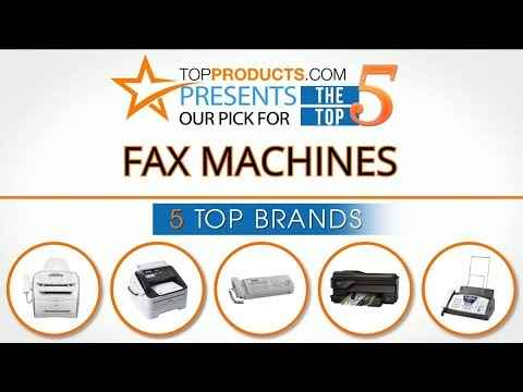 Best Fax Machine Reviews 2017 – How to Choose the Best Fax Machine