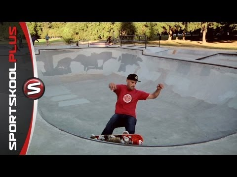 How to Skateboard a Small Bowl with Omar Hassan
