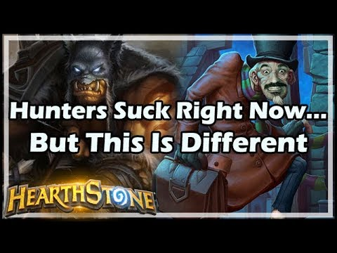 [Hearthstone] Hunters Suck Right Now… But This Is Different