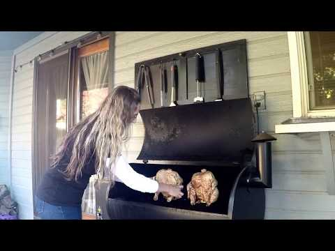 How to Make Beer Can Chicken on a Traeger Gril - Easy Dinner Ideas