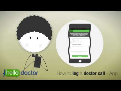 Hello Doctor - how to Talk to a Doctor via the App