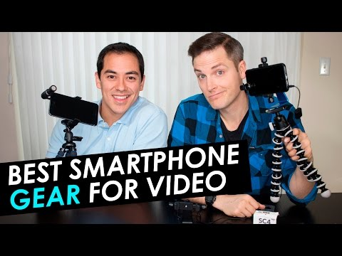 Best Smartphone Accessories for Live Streaming — Microphones, Tripods and Lenses