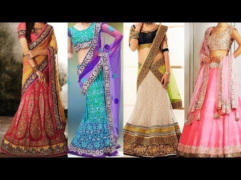 How to Wear Lehenga Saree in Different Styles | 5 Ways Of Wearing Lehenga Dupatta to Look Slim
