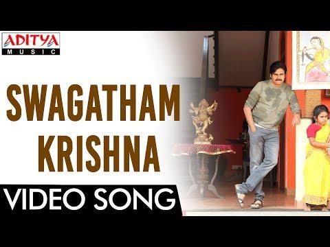 Xxx Mp4 Swagatham Krishna Video Song Agnyaathavaasi Video Song Pawan Kalyan Keerthy Suresh Anirudh 3gp Sex