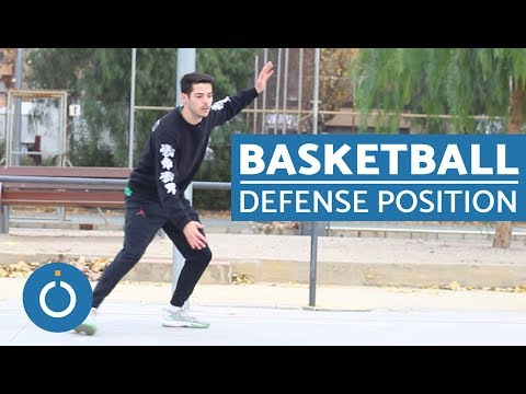 Basketball Defense Position
