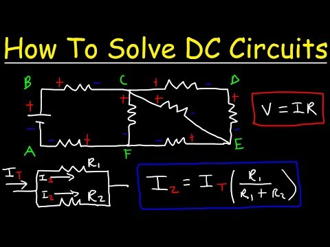 How To Solve Any Resistors In Series and Parallel Combination Circuit Problems in Physics