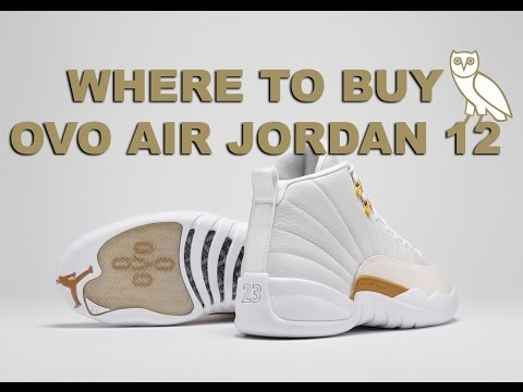 Where to Buy the OVO Air Jordan 12