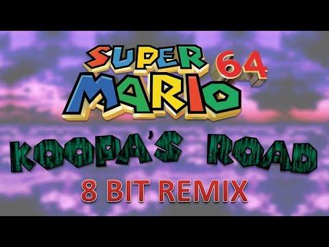 Super Mario 64 - Koopa's Road - 8 Bit Remix