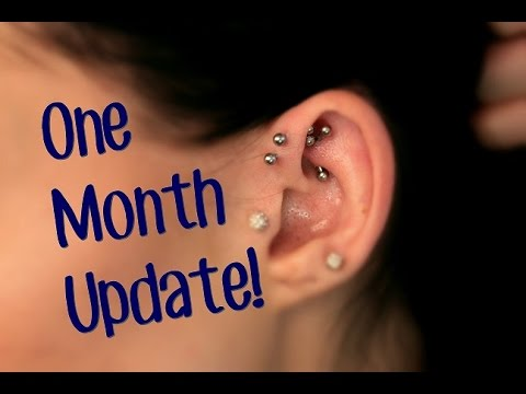 Rook Piercing | One Month Update!