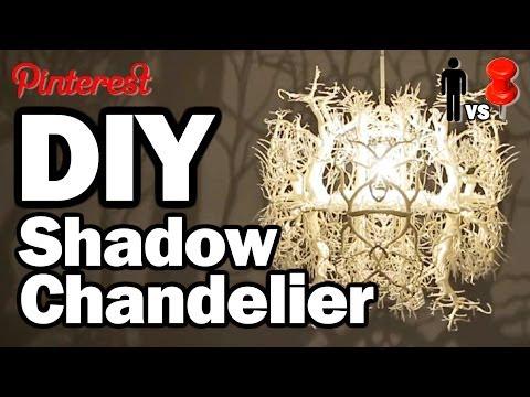DIY Shadow Chandelier  -  MAN VS PIN #1
