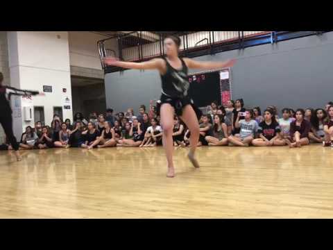 Colony high school dance team try outs 2017 day 1 jazz