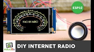 "Esp32 Internet Radio Project With A 3.5"" Nextion Display"