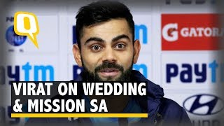 Virat Kohli Talks About Mission South Africa & Marriage to Anushka | The Quint