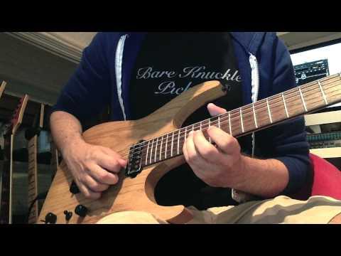 Francesco Filigoi / Born Of Osiris - Machine / M∆CHINE Sweep Picking Solo Cover w/ Lesson & TAB
