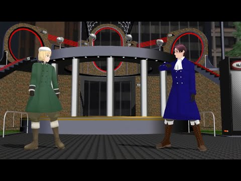 [AP ヘタィア MMD] Austria and Switzerland - Cantarella