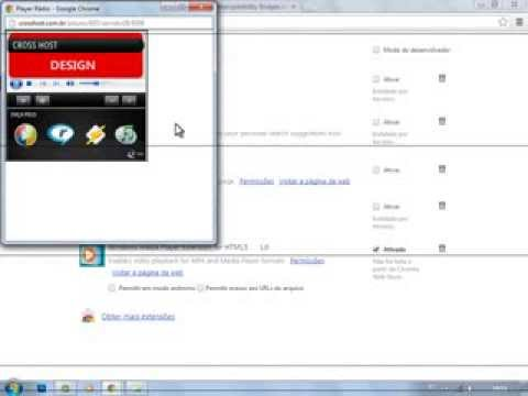 Windows Media Player HTML5 Extension for Chrome