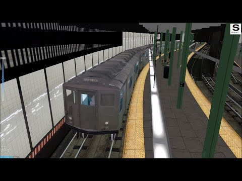 OpenBVE HD: Chasing NYC Subway IRT World's Fair Lo-V Preview on The 6 Train (6/4/18)