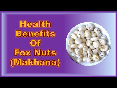 Makhana Health Benefits - Indian Super Food For Diet & Total Well Being - Effective & Economical