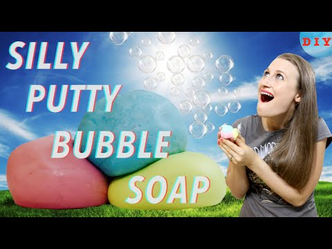 How To Make Silly Putty Bubble Soap!