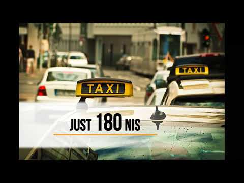 Taxi from Ashdod to Airport just for 180 nis 050 5447769