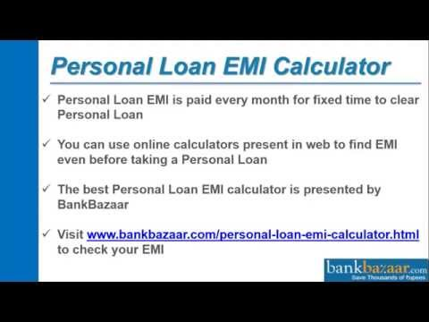 How to Use Personal Loan EMI Calculator?