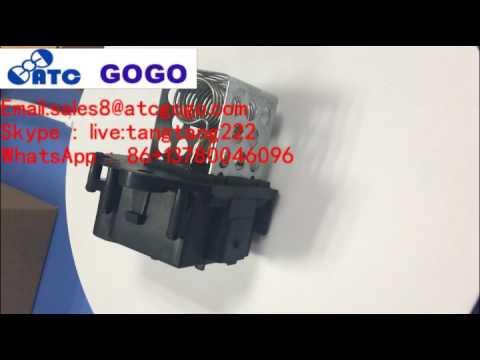 RADIATOR FAN MOTOR RESISTOR for PEUGEOT 107 206 307 PARTNER OEM 9649247680 1308CN