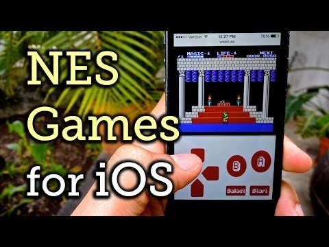 Play Classic NES Game ROMs on an iPhone Without Jailbreaking [How-To]