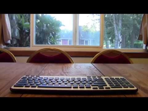 Logitech Mk360 Keyboard Unboxing