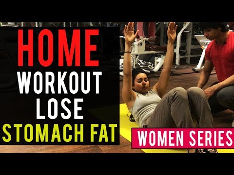 Women's Workout: Lose STOMACH FAT At Home! | AESTHETICALLY