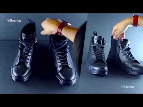 Dr.  Martens Talib Unboxing Review  Navy Brandos 16547410 Eight-Eye Raw Boot