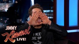 Jim Carrey's Secret Hand Signal