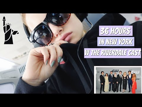 36 hours in New York with the Riverdale cast | Madelaine Petsch