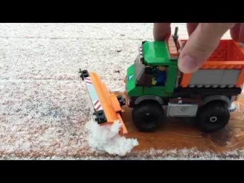 LEGO City Snowplow Truck 60083 - Let's Play