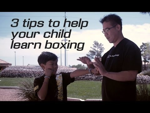 3 Tips to help your child learn boxing