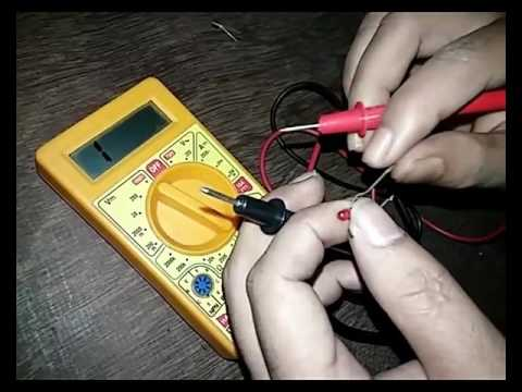 How to check electric components by Digital Multimeter