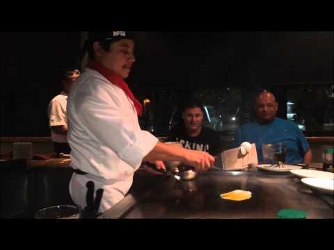 Notre soirée au restaurant japonais hibachi Osabi à ventura, en Californie
