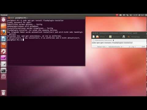 Ubuntu: Adobe Flash Player installieren || Tutorial [HD|HQ]
