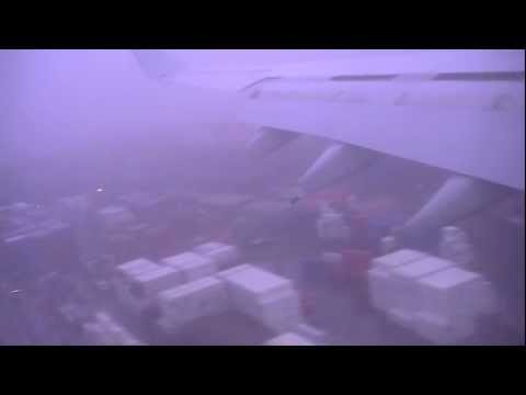 Virgin Australia flight from Perth to Sydney stormy approach and bumpy landing