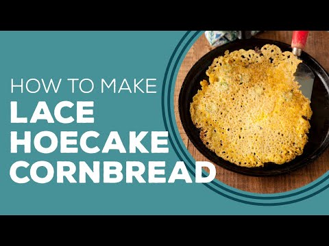 Paula Deen's Lace Hoecake Cornbread - Blast from the Past