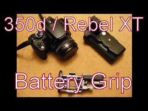 Battery Grip For Canon EOS 350d / 400d Digital Rebel XT / XTI - The Opteka BGRXT